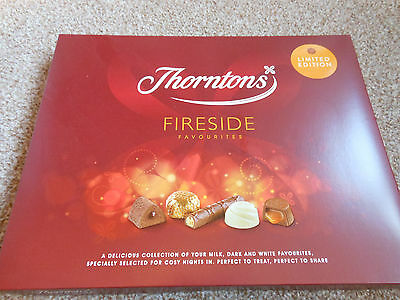 Tray / Box Of Thorntons Fireside Chocolates NEW & SEALED