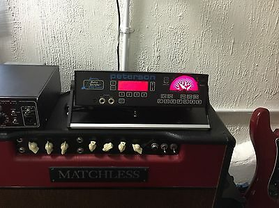 Peterson 490 Strobe Tuner - Excellent condition - The best tuners available