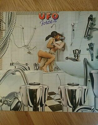 "UFO force it *Rare Original 1st press classic 12"" vinyl 1975* pristine condition"