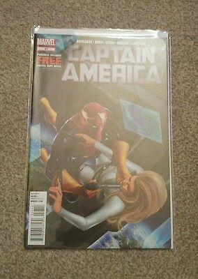 Marvel Comics Captain America #17 mint condition bagged and boarded