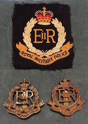 Royal Military Police Patch And Cap Badges