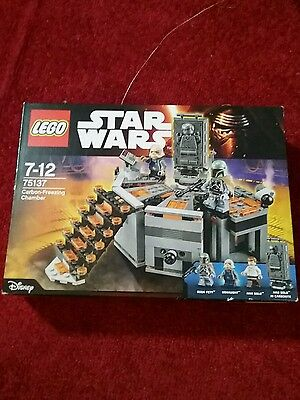 Star Wars Lego 75137 Carbon Freezing Chamber Brand New Sealed