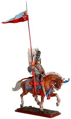 Tin Soldier, collector pain., Winged hussar, Polish hussar № 2, 54mm , Poland