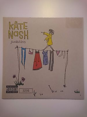 """Kate Nash - Foundations and Navy Taxi 7"""" Single (ltd numbered)"""
