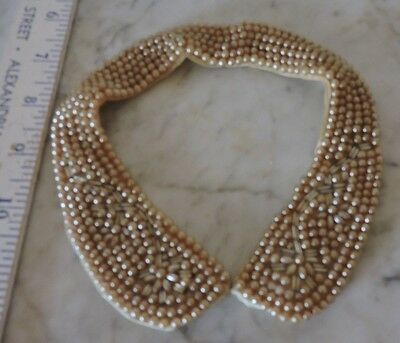 Beautiful Vintage Faux Pearl, & Bead Collar/Choker Japan, Small Size