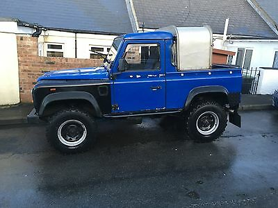 Land Rover Defender 90 truck cab TD5 Galvanised chassis