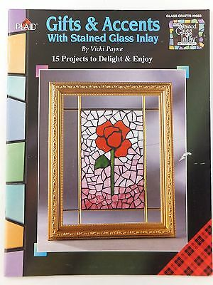 Gifts & Accents with Stained Glass Inlay Book by Vicki Payne Glass Crafts