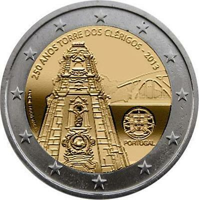 2 Euro Commemorative Portugal 2013 Torre  Disponible De Suite Unc Neuf