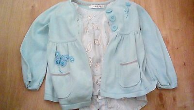 girls blouse and cardigan age 3 - 4 years