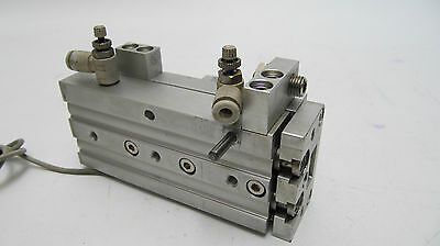 SMC Dual Rod Guided Pneumatic Cylinder MXS12-50AS-A93SAPC with Reed Switch