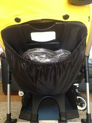 Bugaboo Bee + / Bee 3 seat raincover storage bag with/without interior pocket