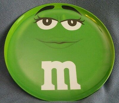 NEW Green M & M's Face Plate Mars