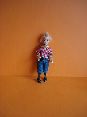 VINTAGE DOLLS HOUSE - 1970s LUNDBY GIRL/DAUGHTER DOLL