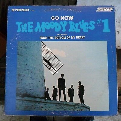 Classic Rock/pop Lp - Moody Blues - Go Now - London Records