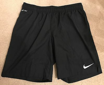 Nike DRI-FIT 2015-16 PGMOL Referee Black Shorts - Medium (New)