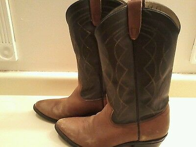 Custom made Texan Made in the U.S. Cowboy boots 9D