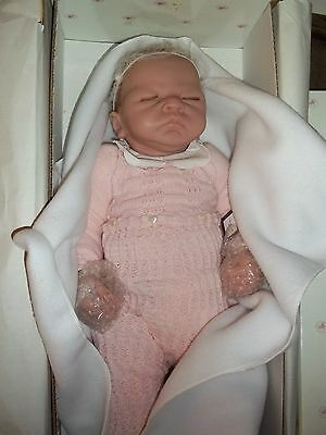 "The Ashton Drake Galleries ""welcome Home Baby Emily""  Brand New Baby Doll"
