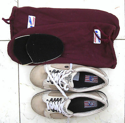 Professional Dexter Ten-Pin Bowling Shoes size 7 - 8 made in the USA