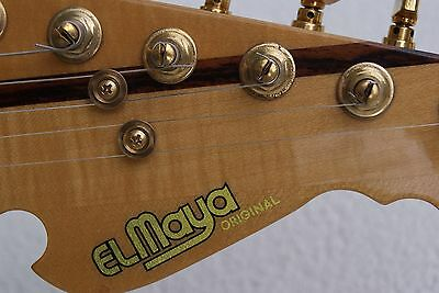 El Maya Stratocaster With Case - Japan