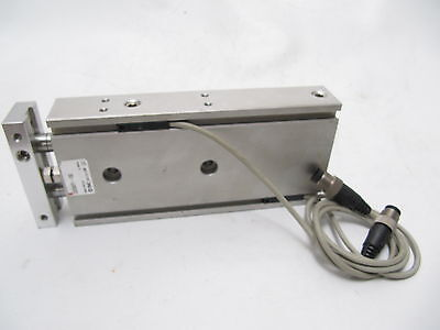 SMC Compact Pneumatic Guided Cylinder CXSM25-100 with Reed Switches