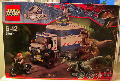 LEGO  75917 Jurassic World Raptor Rampage  Age 6 + New - crease to front  of box
