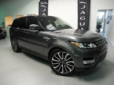 2014 Land Rover Range Rover Sport HSE Sport Utility 4-Door Climate Comfort and Visibility Package Meridian Premium Audio Vision Package