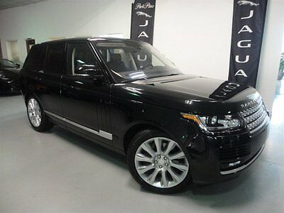 2015 Land Rover Range Rover Supercharged Sport Utility 4-Door 4 Zone Climate Driver Assistance Pack Massaging Front Seats Vision Assist Pack