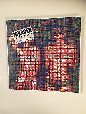 INVADER, Low Fidelity, Limited first edition art catalogue, 2009