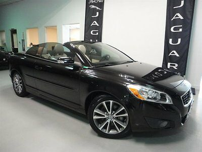 2011 Volvo C70 Base Convertible 2-Door 2011 Convertible Used Turbocharged Gas I5 2.5L/154 5-Speed Automatic FWD Black