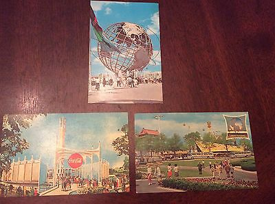 vintage postcards from NY World's Fair 1964-65 (3)
