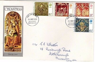 1976 Christmas With Coventry Cds Philart Fdc From Collection E23