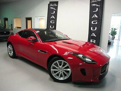 2016 Jaguar F-Type  Low Miles Switchable Active Exhaust Climate Pack Heated Seats and Steering Wheel