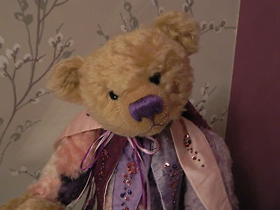 Jester - One of a Kind Mohair Artist Bear by Pam Howells