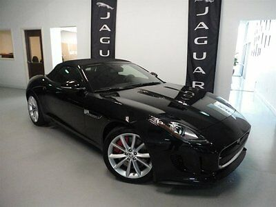 2014 Jaguar F-Type S Convertible 2-Door CERTIFIED Climate Pack Performance Pack Illuminated Tread Plates Heated Seats