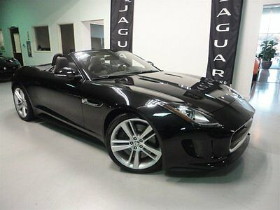 2014 Jaguar F-Type V8 S Convertible 2-Door Low Miles Climate Pack Premium Pack Switchable Exhaust Extended Leather