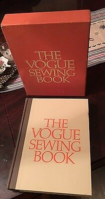 The Vogue Sewing Book 1970 1st edition Hardcover w/ Slipcase