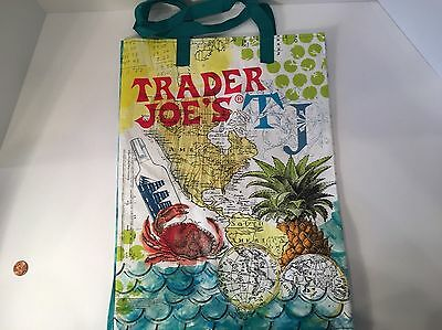 Trader Joe's 6 gallon eco resuable shopping grocery bag tote