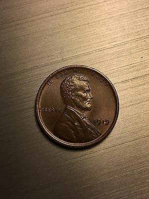 1919 P Lincoln Wheat Cent. Nice!!