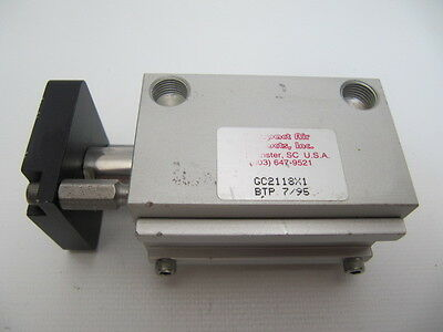 Compact Air Products Pneumatic Cylinder GC2118X1 BTP 7/95