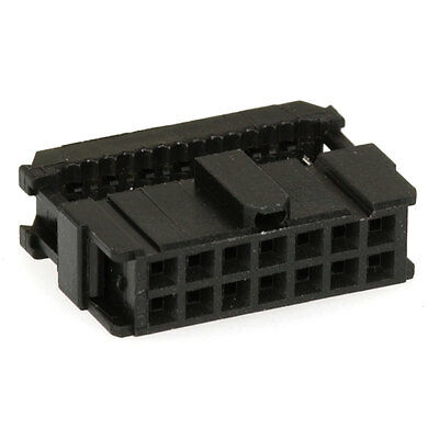 Amp/Tyco Electronics 746285-2 Connector IDC Connector Receptacle 14 Posit 4 pcs