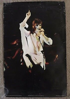 David Bowie Vintage Pace International Poster Circ 1972
