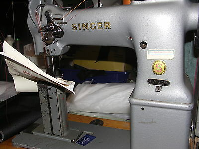Singer Twin Needle Industrial Sewing Machine
