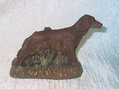 Bronze Kennel Collection Irish Setter by Charles Earnhardt
