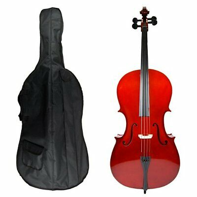 GRACE 1/8 Size Student Cello with Bag and Bow + Free Rosin