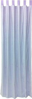 Tadpoles Double Sided Tab Top Single Curtain Panels, Lavende