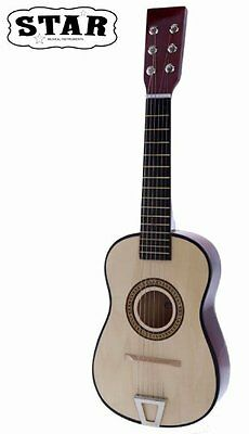 Star MG50-NT Kids Acoustic Toy Guitar 23-Inches, Natural Col