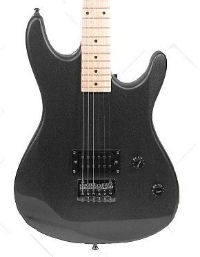 39 Inch BLACK Electric Guitar & Carrying Case & Accessories,