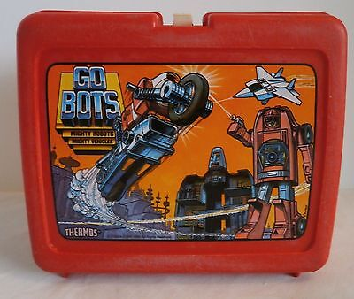 Vintage 1984 GO BOTS Lunch Box by Thermos Box only