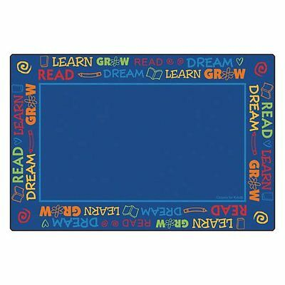 Read To Dream Border Rug 6' x 9' Rectangle