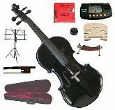 "Merano 16"" Black Viola with Case and Bow+Extra Set of String"